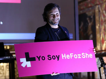 Diego Torres es nombrado embajador de He for She
