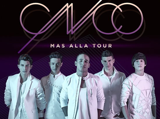 CNCO confirma concierto enPanamá