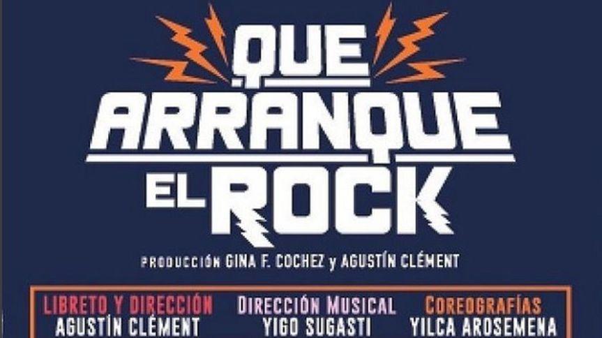 Que arranque el rock el musical de la historiapanameña