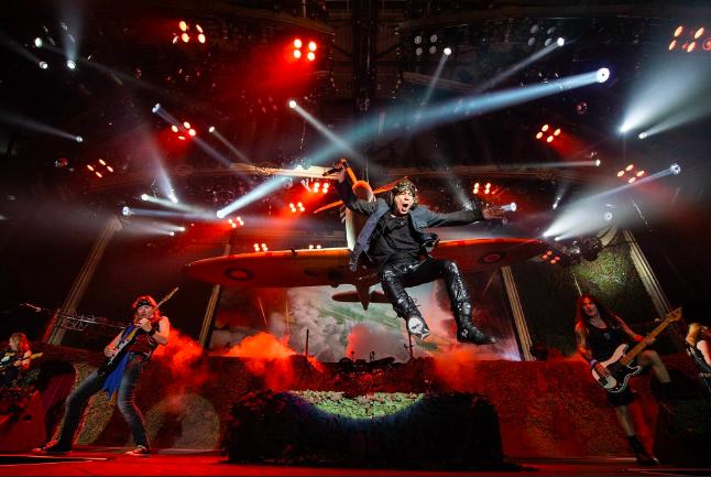 Iron Maiden inicia giraeuropea