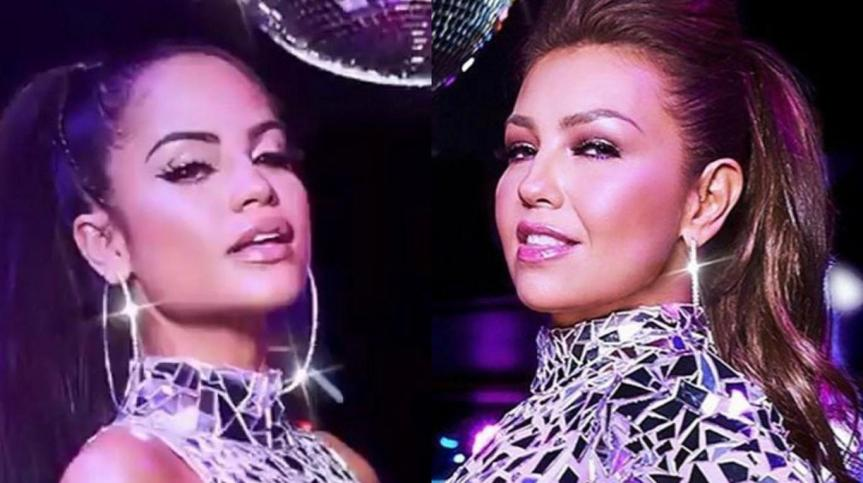 Thalía se une a Natti Natasha en No meacuerdo